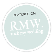 Badge for featuring on Rock My Wedding